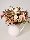1 1 ramură Poliester / Plastic Camellia Față de masă flori Flori artificiale 13.7inch/35cm