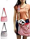 Cat Dog Carrier & Travel Backpack Shoulder Bag Pet Carrier Portable Breathable Red Blue