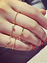 5pcs Žene Prestenje knuckle ring - Legura dame, Personalized, Simple Style, Moda Jewelry Pink / Zlatan Za Party Dnevno Kauzalni Univerzalna veličina