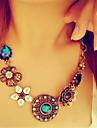 Dame Coliere cu Pandativ Cristal Diamante Artificiale Aliaj La modă Vintage bijuterii de lux European costum de bijuterii Bijuterii Pentru
