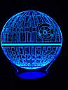 3D touch dimmer a condus lumina de noapte 7colorful decorare lampă de iluminat atmosferă de Crăciun noutate lumina