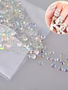 1000 Bijoux a ongles Glitters Classique Mariage Punk Haute qualite Quotidien Nail Art Design