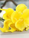 1 ramură PU Cale Față de masă flori Flori artificiale