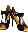 Latin/Salsa - Pantofi de dans (Galben/Roșu) - Personalizat - Pentru femei