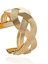 Women\'s Cuff Bracelet Fashion Bracelet Jewelry Silver / Golden For