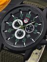 Bărbați Ceas de Mână Ceas Militar  Quartz / Piele Bandă Casual Negru