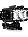 Spot LED Coque Etanche Coque Interne FLASH Pour Camera d\'action Gopro 5 Gopro 3 Gopro 2 Gopro 3+ Gopro 1 Sports DV SJ6000 SJCAM SJ7000