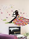 Desene Animate Perete Postituri Autocolante perete plane Autocolante de Perete Decorative Autocolante de Nuntă,Vinil Pagina de decorare
