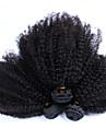Indiskt hår Curly Weave Afro Sexigt Lockigt Hårförlängning av äkta hår 3 delar Heta Försäljning 3 delar 0.3