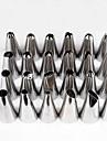 24 Bakning Hot Sale / kaka Utsmyckning / DIY / Hög kvalitet Tårta Rostfritt Stål Dekorationsverktyg