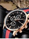 Bărbați Ceas La Modă Quartz / Material Bandă Casual Negru Alb