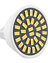 ywxlight® 6w mr16 condus lumina reflectoarelor 32smd 5733 500-600lm cald / cool alb ac 110v / 220v