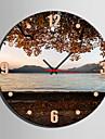 1pc creator de ceas de peisaj cu lac de e-home® în panza analogică