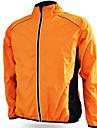 Unisex Chaqueta de Ciclismo Bicicleta Chaqueta Paravientos Top Impermeable Resistente al Viento Deportes Invierno Naranja / Amarillo / Verde Ropa Ropa para Ciclismo