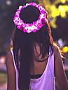 Pentru femei Fete Flori Floral Stil Floral Flori Luminos Iluminată, Material Textil Bandană