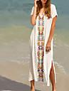 Femei Șal Femei Cu Susținere Floral / plunging răscroială Polyester