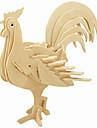 Ξύλινα παζλ Κοτόπουλο επαγγελματικό Επίπεδο Ξύλινος 1pcs Παιδικά Αγορίστικα Δώρο