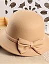 Damă Iarnă Primăvară Toamnă Petrecere Tweed,Pălărie Bleumarin Rosu Albastru Camel Roșu Vin