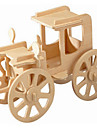 تركيب خشبي مجموعات البناء خمر، سيارة المستوى المهني خشبي 1pcs للأطفال صبيان هدية