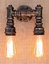 Rustik / Stuga Vägglampor Metall vägg~~POS=TRUNC 110-120V / 220-240V 40W / E27