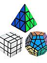 Rubiks kub 3 PCS Shengshou Pyraminx Alien Megaminx Spegelkub 3*3*3 Mjuk hastighetskub Magiska kuber Pusselkub Hastighet Professionell
