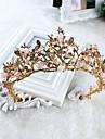 imitație de perle din aliaj de piatră tiaras headpiece stil elegant