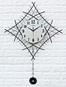 Modern/Contemporan Case Ceas de perete,Altele Acrilic / Sticlă / Culoarea Fierului / Metalic 60*83cm Interior Ceas