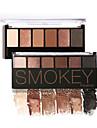 6 Palette Fard a paupieres Sec Mat Lueur Materiel Palette Fard a paupieres Poudre NormalMaquillage Quotidien Maquillage d\'Halloween
