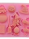 Halloween produits paques sorciere citrouilles gateau de sucre pain mousse gelee preparee colorant alimentaire aleatoire 8.7 * 7 * de