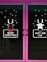 Konst Dekor Nutida Fönsterklistermärke, PVC/Vinyl Material fönster~~POS=TRUNC Matsalsrum Sovrum Kontor Barnrum Vardagsrum Badrum Butik /