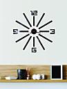 Modern/Contemporan / Birou / Afacere Case / Familie / Școală/Absolvire / Prieteni Ceas de perete,Noutate Sticlă / Plastic 45CM/17.7inch