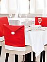Crăciun, decoratiuni de Craciun huse pentru scaune decor acasă 60 * 50 cm 1 buc