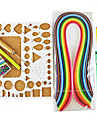 400pcs quilling papier de bricolage kit art de la décoration / 7pcs ensemble