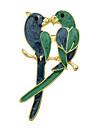 Pentru femei Broșe - Modă Broșă Auriu / Verde Pentru Petrecere / Ocazie specială / Zi de Naștere
