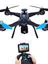 RC Drönare JJRC X1G 4 Kanaler 6 Axel 5.8G Med 2,0MP HD-kamera Radiostyrd quadcopter FPV LED-belysning Felsäker 360-Graders Flygning