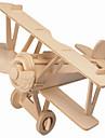 Puzzles Puzzles en bois Building Blocks DIY Toys Avion / Maison 1 Bois Ivoire Maquette & Jeu de Construction