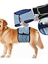 Câine Pantaloni Μείγμα Βαμβάκι Scutece Îmbrăcăminte Câini Mată Negru Albastru Terilenă Costume Pentru animale de companie Bărbați