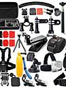 Tillbehörs Kit 46 i 1 Justerbar Vattentät Dammsäker Flytande För Actionkamera Gopro 5 Xiaomi Kamera Gopro 4 Black Gopro 4 Session Gopro 4