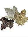 broșe din aliaj retro moda femei pini chic de zi cu zi / ocazional trei frunze forma de bijuterii accesoriu 1pc