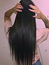 Remy-hår Hel-spets Peruk Indiskt hår Rak Med babyhår 120% Densitet 100 % handbundet Naturlig hårlinje 10 inch 12 Inch 14 inch 16 inch 18