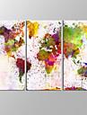 Paysages Abstraits Moderne,Trois Panneaux Toile Format Horizontal Imprime Decoration murale For Decoration d\'interieur