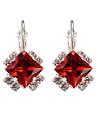 Dame Fete Cercei Rotunzi  Cristal Diamant sintetic La modă Cristal Argilă Aliaj Bijuterii Pentru Nuntă Petrecere Zilnic