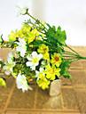 1 Gren Silke Plast Prästkragar Bordsblomma Konstgjorda blommor
