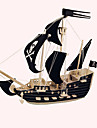 Wooden Puzzle Ship Pirate Ship Pirates Pirate Professional Level Wooden 1pcs Kid\'s Boys\' Gift