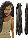 ブレイズヘア かぎ針編み ドレッドロックス / Dreadlocks / Faux Locs 合成 1個 / パック 髪の三つ編み Dreadlock拡張機能 / フェイクドレッドヘア / フェイクドレッドクロシェット
