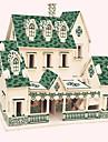 Quebra-Cabecas de Madeira Modelos de madeira Construcoes Famosas Arquitetura Chinesa Casa Nivel Profissional De madeira 1 pcs Criancas Adulto Para Meninos Para Meninas Brinquedos Dom