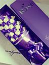 1 ramură Real atingere Trandafiri Față de masă flori Flori artificiale 60*12