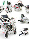 7 IN 1 Robotar Leksaksbilar Soldrivna leksaker Rymdleksaker Leksaksflygplan Forskning- och upptäcktsset Leksaker Robotar Soldriven