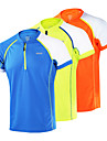Arsuxeo Homme Tee-shirt de Course Manches Courtes Sechage rapide, Antistatique, Respirable Hauts / Top pour Yoga / Camping / Randonnee /