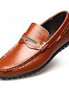 Bărbați Pantofi Piele Primăvară Vară Toamnă Iarnă Confortabili Mocasini Cizme la Modă Mocasini & Balerini Volane Pentru Casual Party &